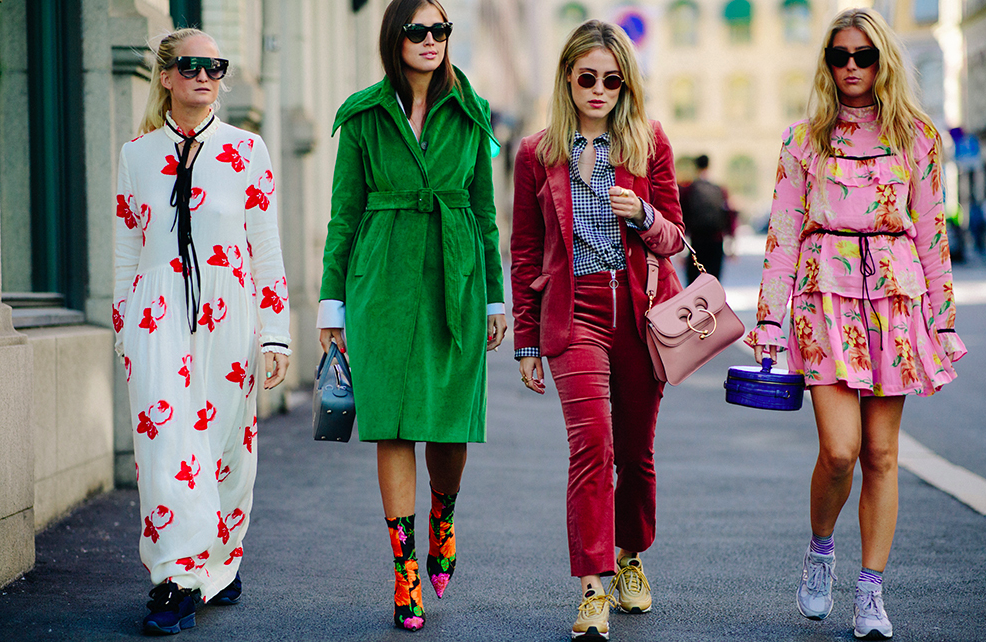 Street style na Oslo Fashion Weeku